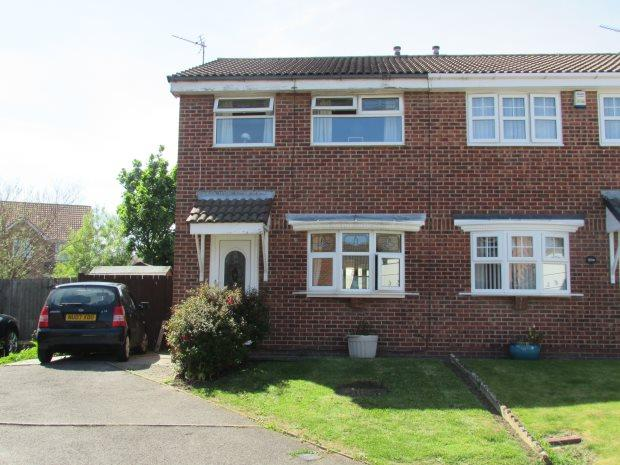 3 Bedrooms Semi Detached House for sale in ASHWOOD CLOSE, CLAVERING, HARTLEPOOL
