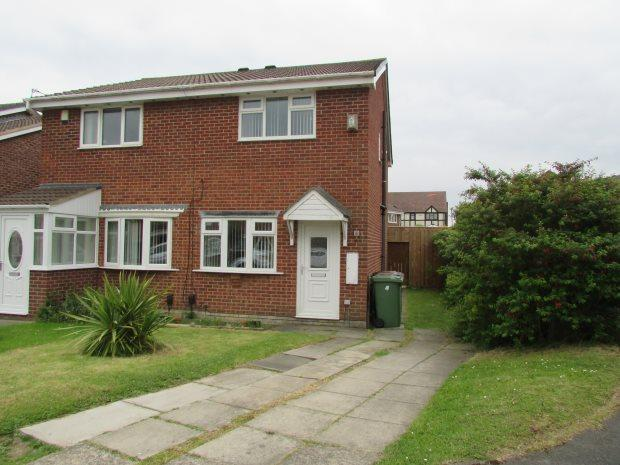 2 Bedrooms Terraced House for sale in RAVENWOOD CLOSE, CLAVERING, HARTLEPOOL