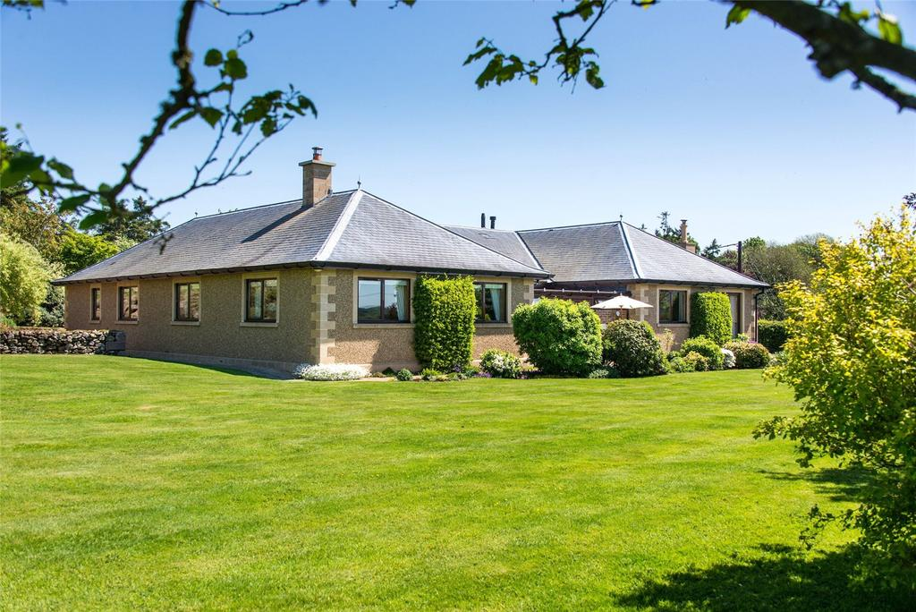 5 Bedrooms Detached Bungalow for sale in Brimham House, Kelso, Scottish Borders, TD5
