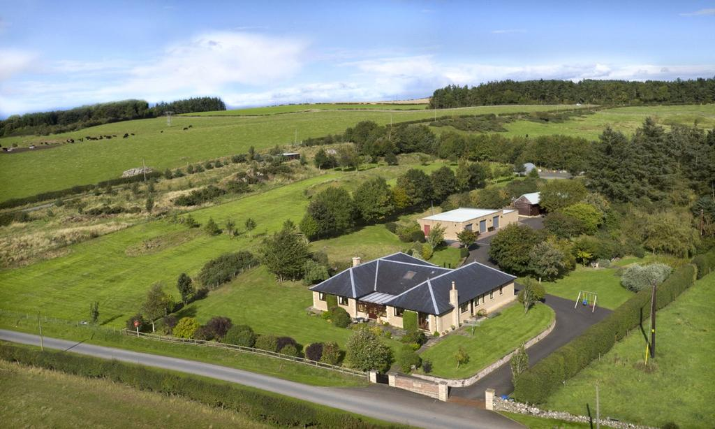 5 Bedrooms Equestrian Facility Character Property for sale in Brimham House, Kelso, Scottish Borders, TD5