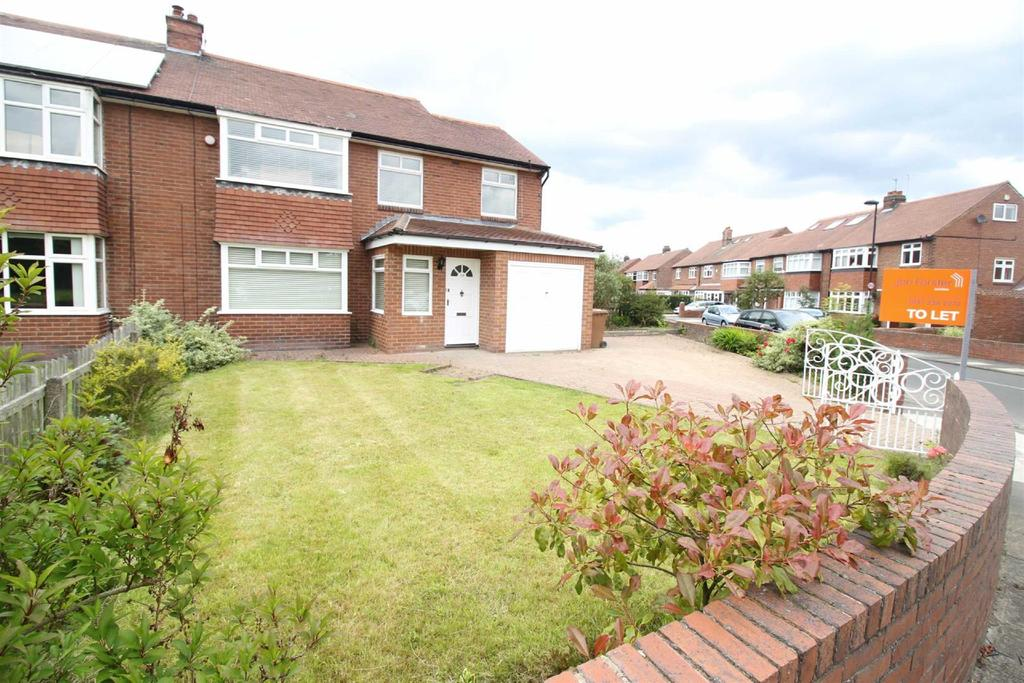 4 Bedrooms Semi Detached House for rent in Briarfield Road, Newcastle Upon Tyne