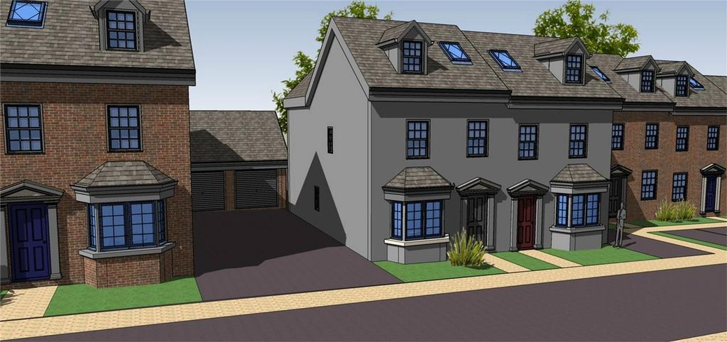 4 Bedrooms Semi Detached House for sale in Plot 3, Rea View, Cleobury Mortimer, Kidderminster, Shropshire