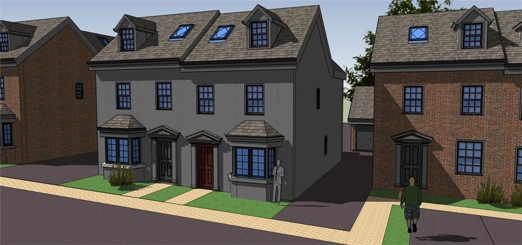 4 Bedrooms Semi Detached House for sale in Plot 4, Rea View, Cleobury Mortimer, Kidderminster, Shropshire