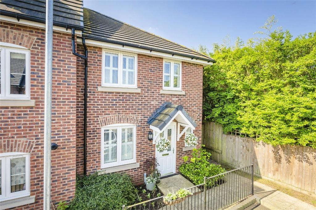 3 Bedrooms End Of Terrace House for sale in Saffron Crescent, SAWBRIDGEWORTH, Hertfordshire