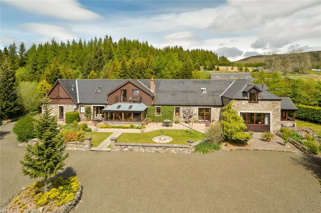 8 Bedrooms Detached House for sale in West Freuchies, Glenisla, Blairgowrie, Perthshire, PH11