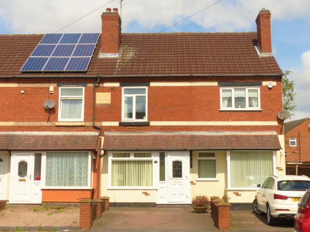 2 Bedrooms Terraced House for sale in Lichfield Road,Shelfield,Walsall