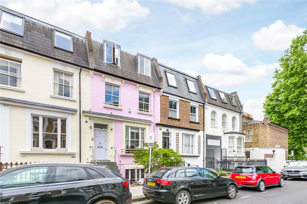 4 Bedrooms Terraced House for sale in Moore Park Road, Fulham/Chelsea Borders, London