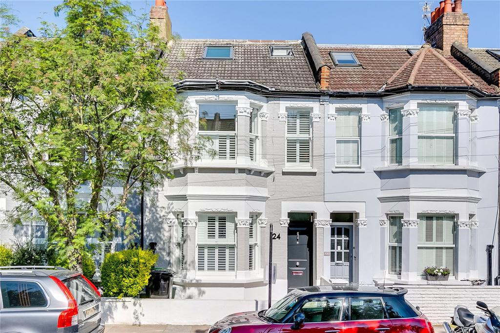 4 Bedrooms Terraced House for sale in Petley Road, Hammersmith, London