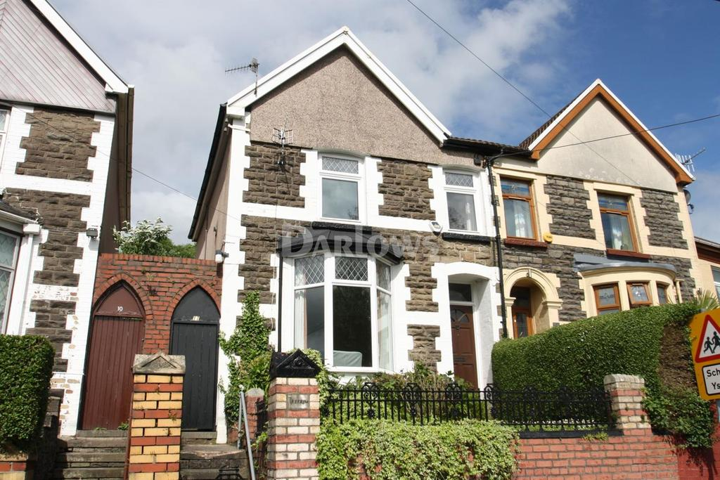 3 Bedrooms Semi Detached House for sale in The Parade, Porth