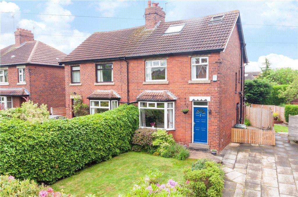 4 Bedrooms Semi Detached House for sale in Lidgett Park Grove, Leeds, West Yorkshire