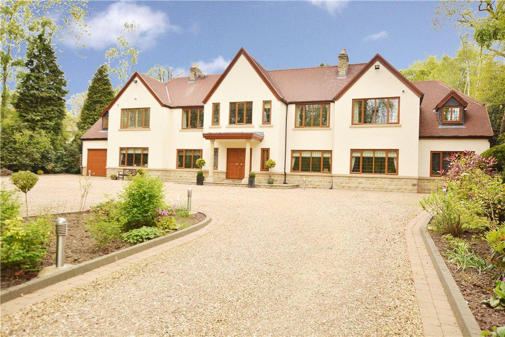 7 Bedrooms Detached House for sale in Lingwood, Ling Lane, Scarcroft, Leeds, West Yorkshire