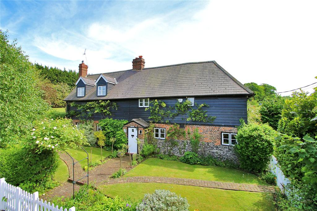 4 Bedrooms Detached House for sale in Rock Hill, Old Chelsfield, Orpington, Kent