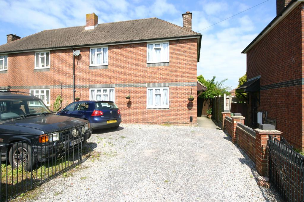 3 Bedrooms Semi Detached House for sale in Queens View, Netley Abbey, Southampton, SO31 5EE