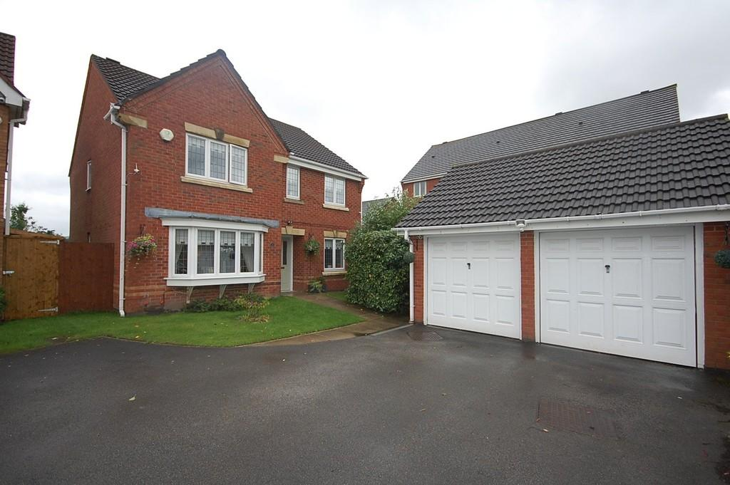 4 Bedrooms Detached House for sale in Horsey Mere Gardens, Thatto Heath, St. Helens