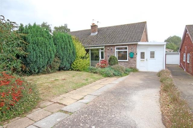 2 Bedrooms Semi Detached Bungalow for sale in Conway Road, Cannington, Bridgwater