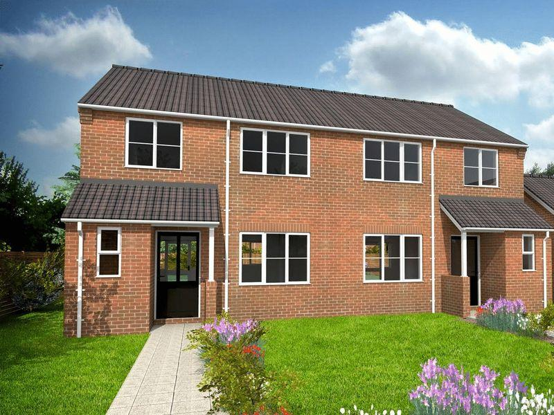 3 Bedrooms Semi Detached House for sale in Cumberland Way, Scampton, Lincoln