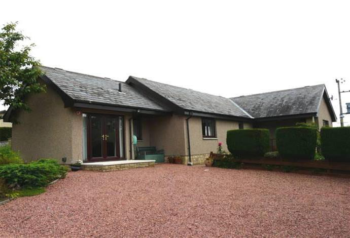 3 Bedrooms Bungalow for sale in Red Brae, 15 The Croft, Blainslie, TD1 2QF