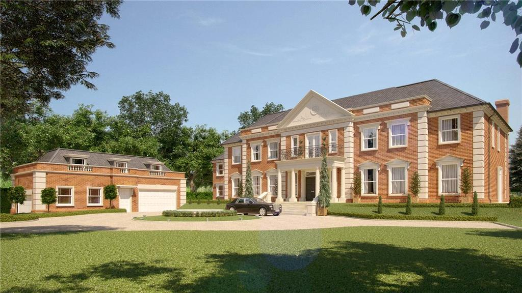 5 Bedrooms Detached House for sale in Titlarks Hill, Sunningdale, Ascot, Berkshire, SL5