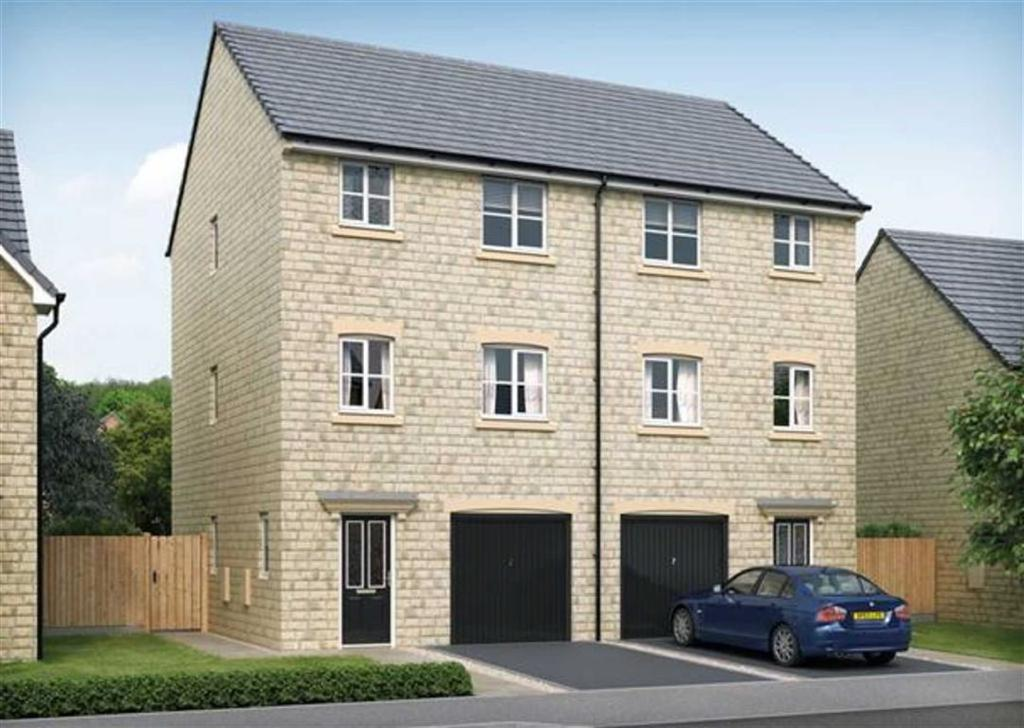 4 Bedrooms Semi Detached House for sale in The Beckett, Lindley, Huddersfield, HD3