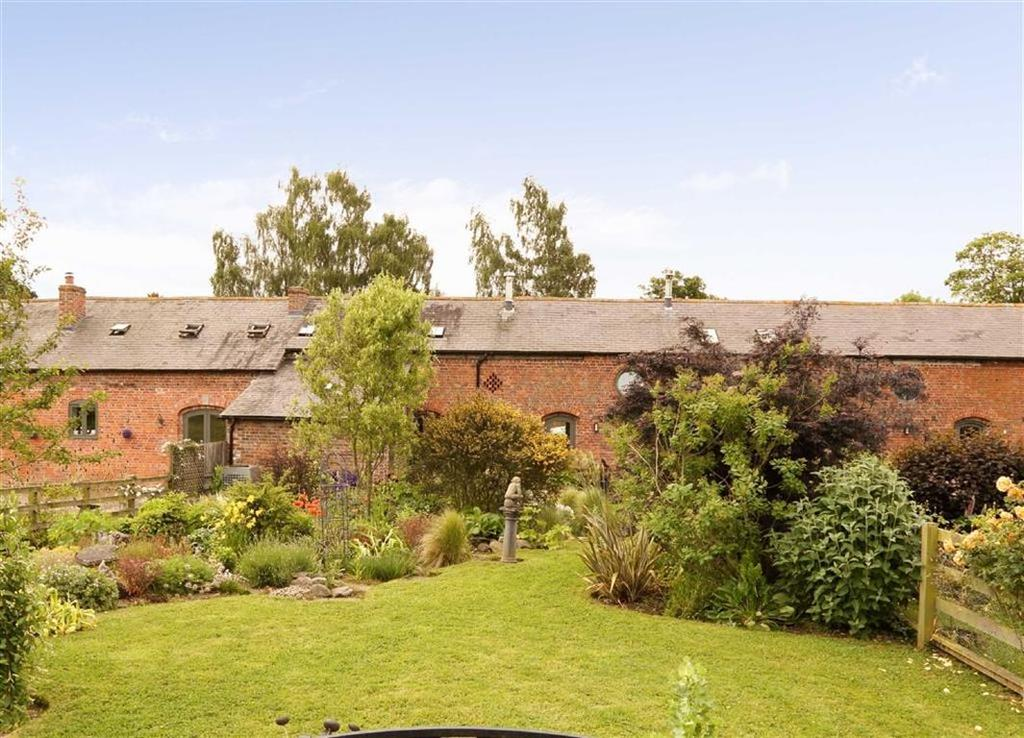 3 Bedrooms Barn Conversion Character Property for sale in Dudleston Hall, Dudleston Heath, Shropshire, SY12