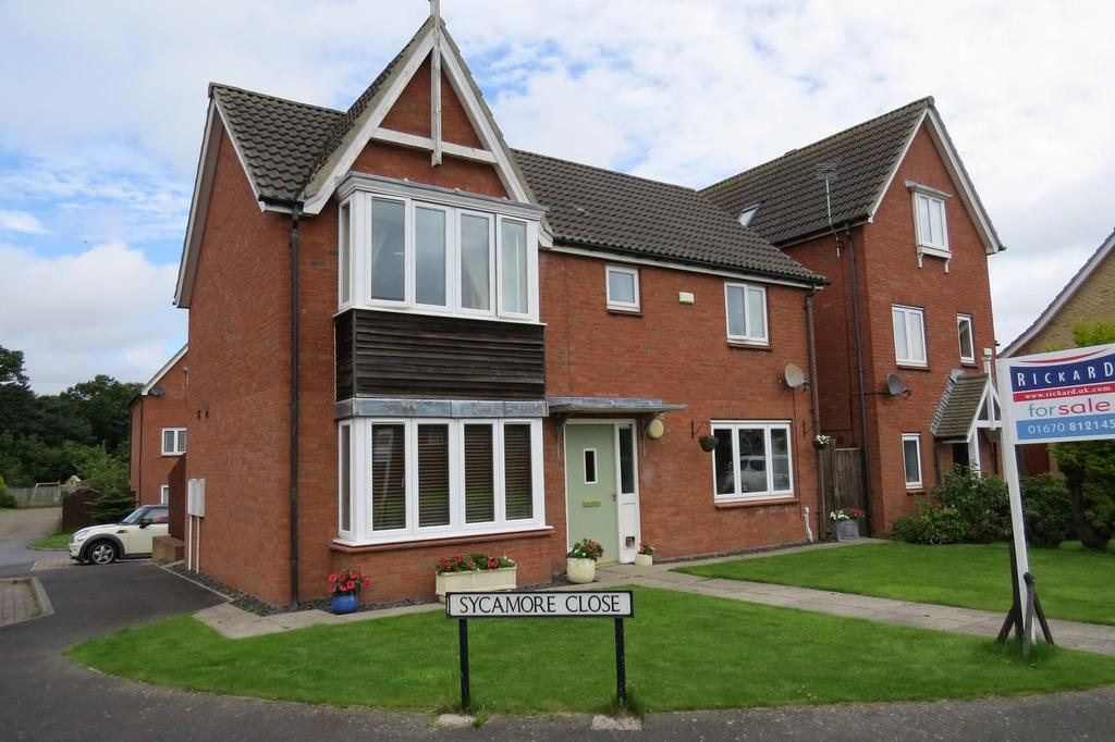 4 Bedrooms Detached House for sale in Sycamore Close, Widdrington