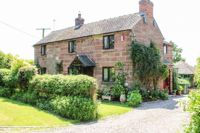 4 Bedrooms Detached House for sale in Laurel Cottage, 9 Lockley Wood, Lockley Wood, Nr Market Drayton, Shropshire, TF9 2LT