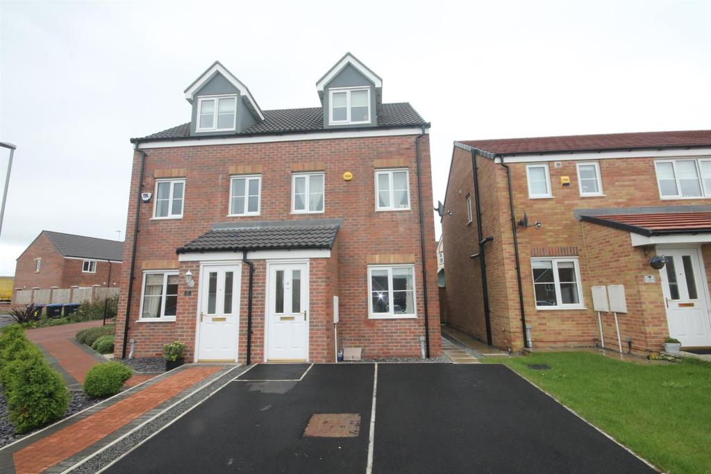 3 Bedrooms Semi Detached House for sale in Hazelbank, Coundon Gate, Bishop Auckland