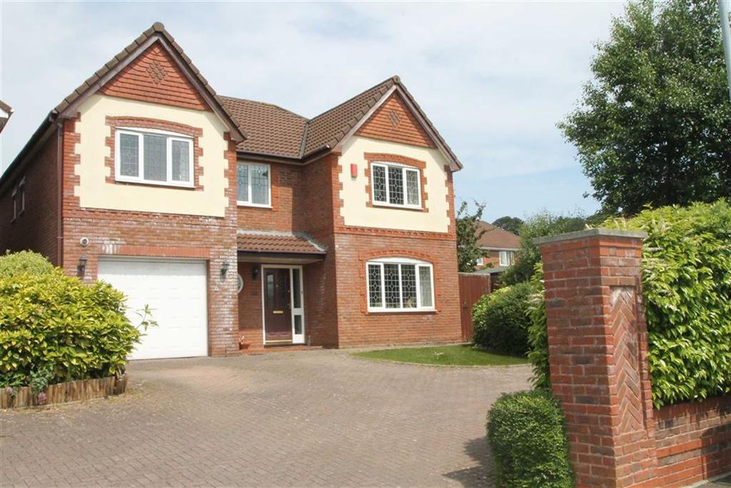 5 Bedrooms Detached House for sale in Clos Derwen, Penylan, Cardiff
