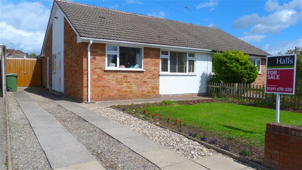 2 Bedrooms Bungalow for sale in Brookhouse Road, Oswestry, SY11