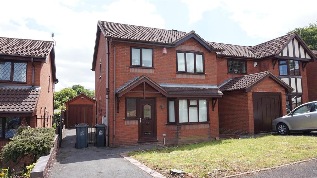 3 Bedrooms Detached House for sale in The Elms, Porthill, Newcastle, Staffs
