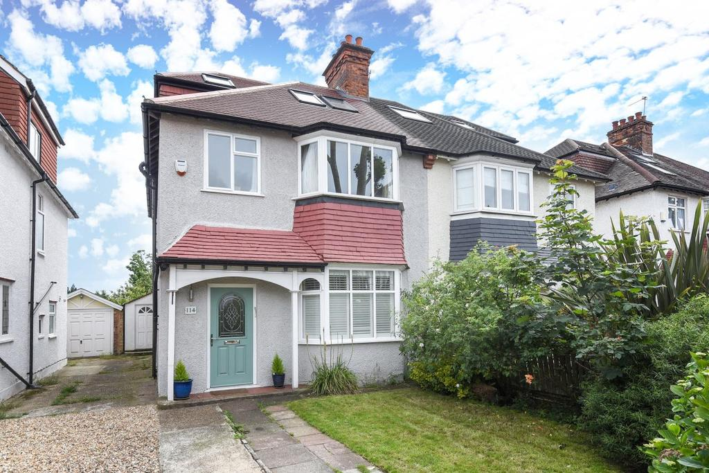 5 Bedrooms Semi Detached House for sale in Sutherland Grove, Southfields, SW18