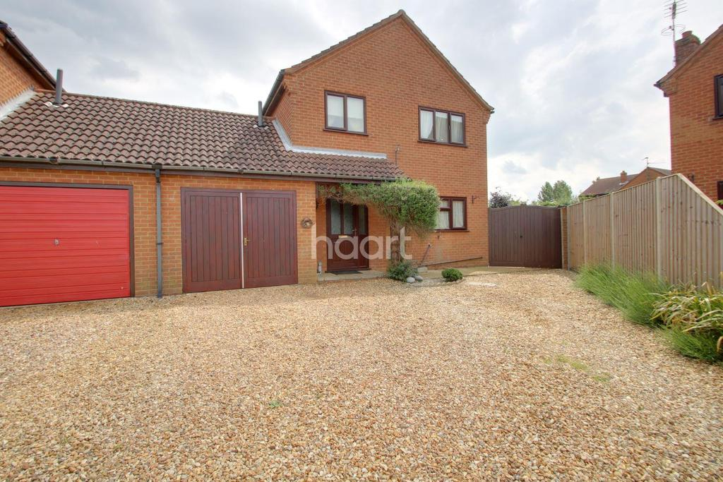 3 Bedrooms Detached House for sale in Kirtons Close, Walpole St Andrew