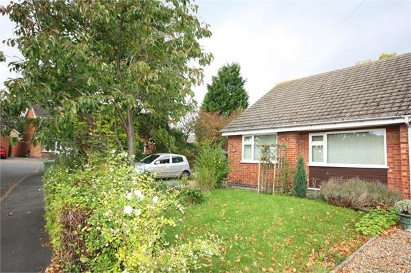 2 Bedrooms Semi Detached Bungalow for sale in Hall Drive, Asfordby, MELTON MOWBRAY