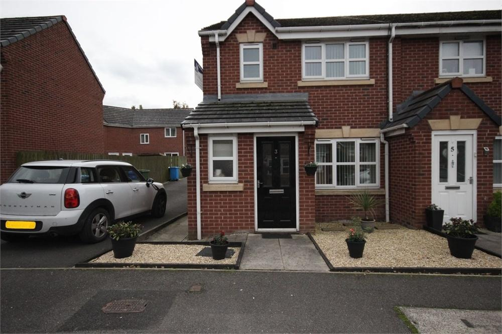 3 Bedrooms End Of Terrace House for sale in St Bridgets Close, WIDNES, Cheshire
