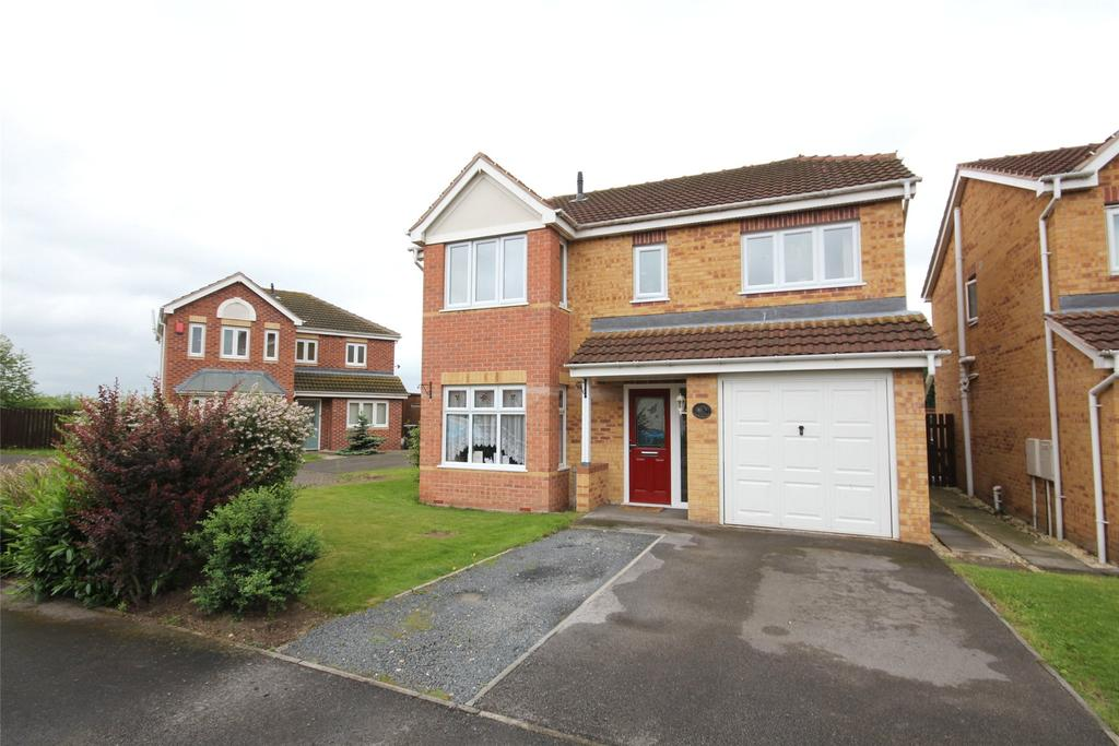 4 Bedrooms Detached House for sale in Heather Gardens, North Hykeham, LN6