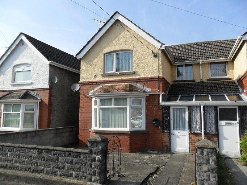 3 Bedrooms Semi Detached House for sale in Capel Road, Clydach, Swansea.