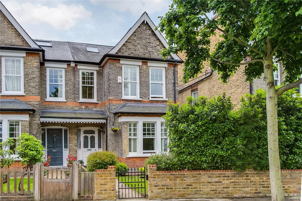 4 Bedrooms Semi Detached House for sale in Ormonde Road, East Sheen, London