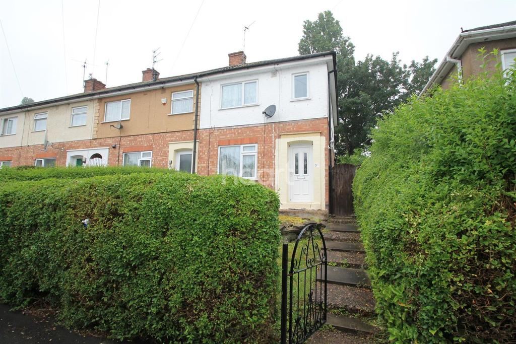3 Bedrooms End Of Terrace House for sale in Helena Crescent, Leicester