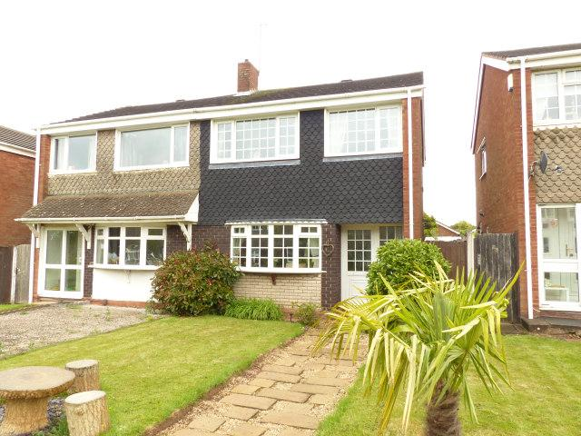 3 Bedrooms Semi Detached House for sale in Jordan Way,Aldridge,Walsall