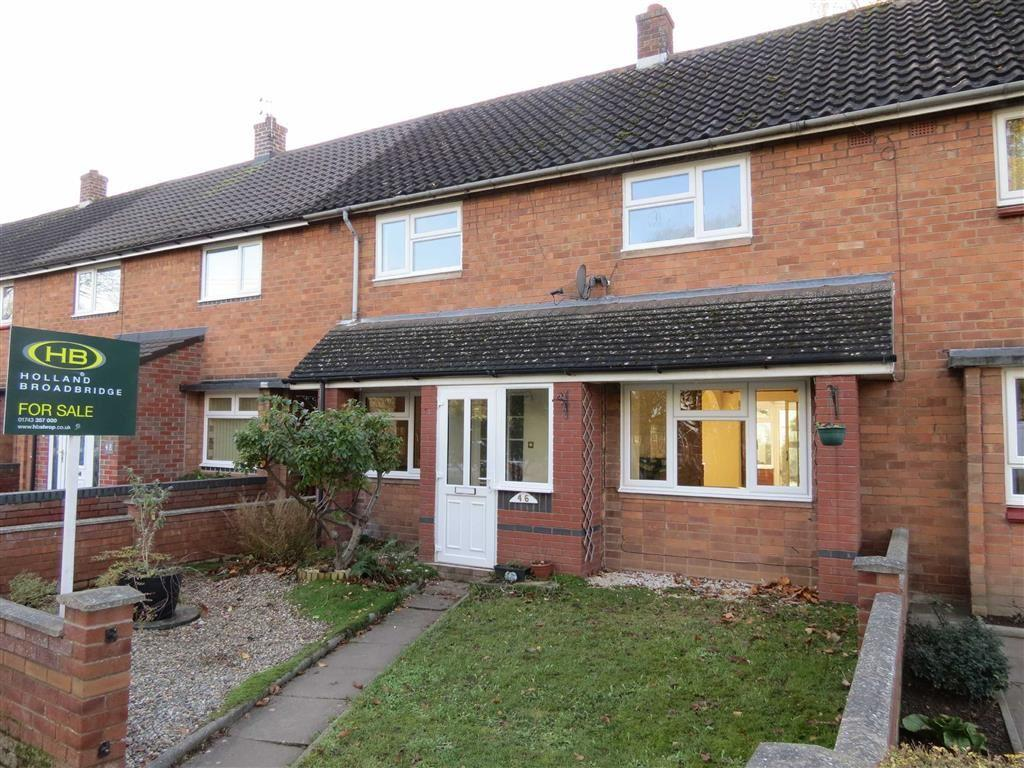 3 Bedrooms Terraced House for sale in Mereside, Springfield, Shrewsbury, Shropshire