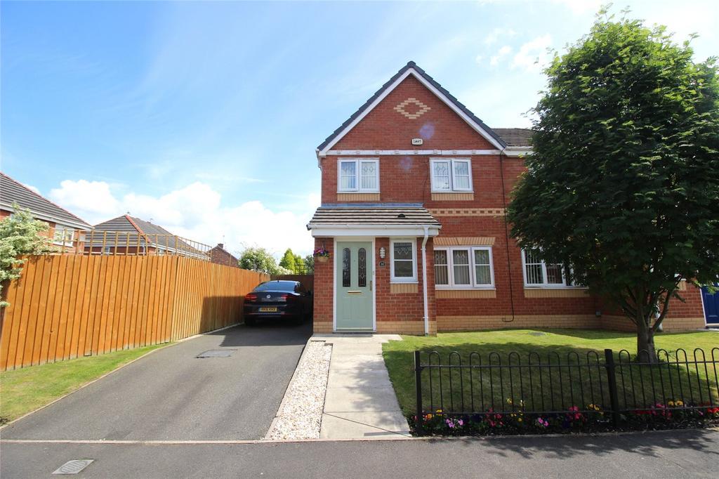 3 Bedrooms Semi Detached House for sale in Deysbrook Way, Liverpool, Merseyside, L12