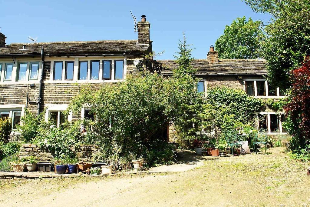 4 Bedrooms Semi Detached House for sale in Off Huddersfield Road, Denshaw, Saddleworth