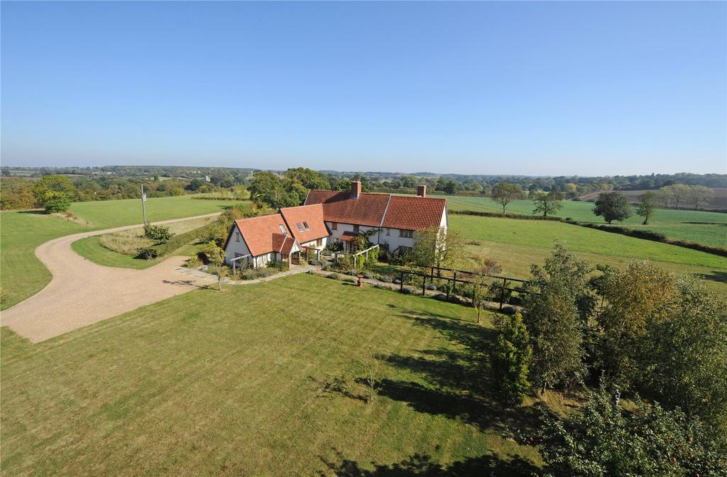 4 Bedrooms Detached House for sale in Low Road, Bruisyard, Saxmundham, Suffolk
