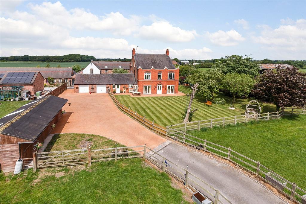 6 Bedrooms Detached House for sale in Aston Juxta Mondrum, Nantwich, Cheshire