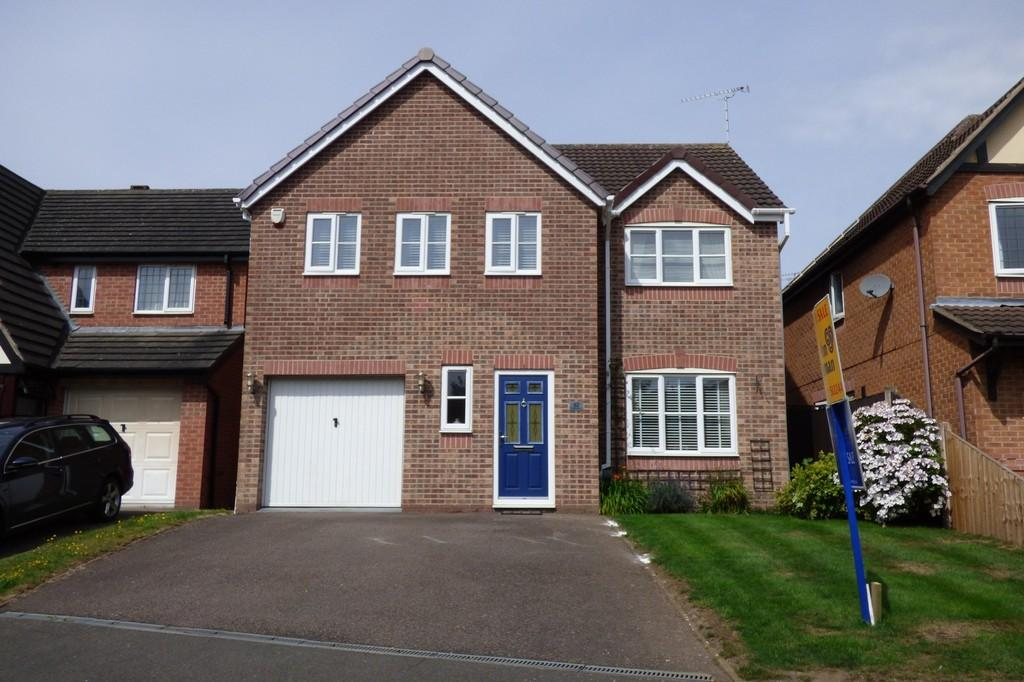 4 Bedrooms Detached House for sale in Thrift Road, Branston