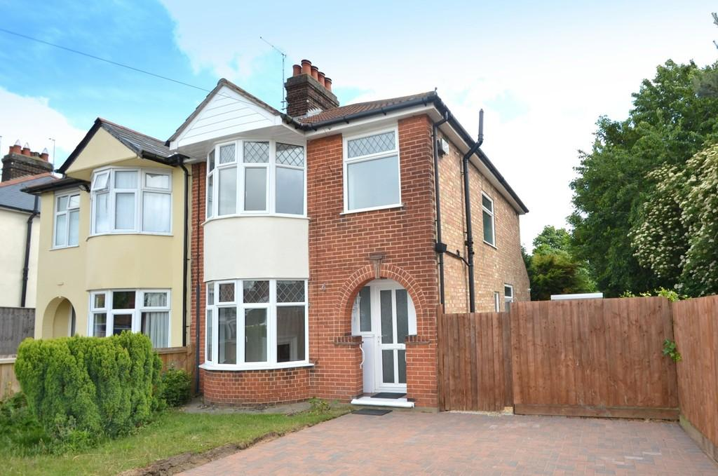 3 Bedrooms Semi Detached House for sale in Westholme Road, Ipswich, Suffolk, IP1 4HH