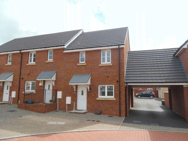 2 Bedrooms End Of Terrace House for sale in Lon Yr Ardd Coity Bridgend CF35 6EZ