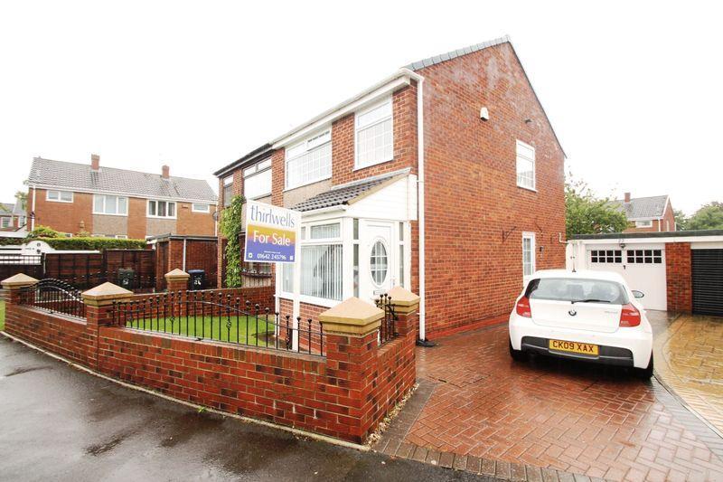 3 Bedrooms Semi Detached House for sale in Aviemore Road, Hemlington