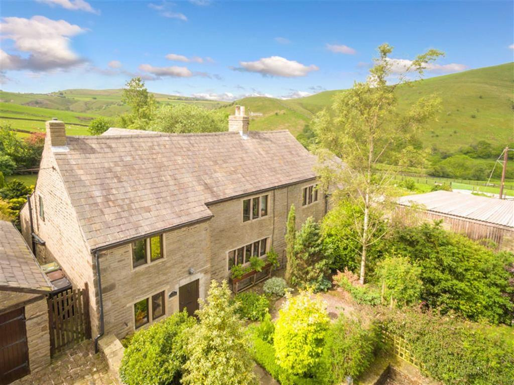 4 Bedrooms Semi Detached House for sale in Chunal, Glossop