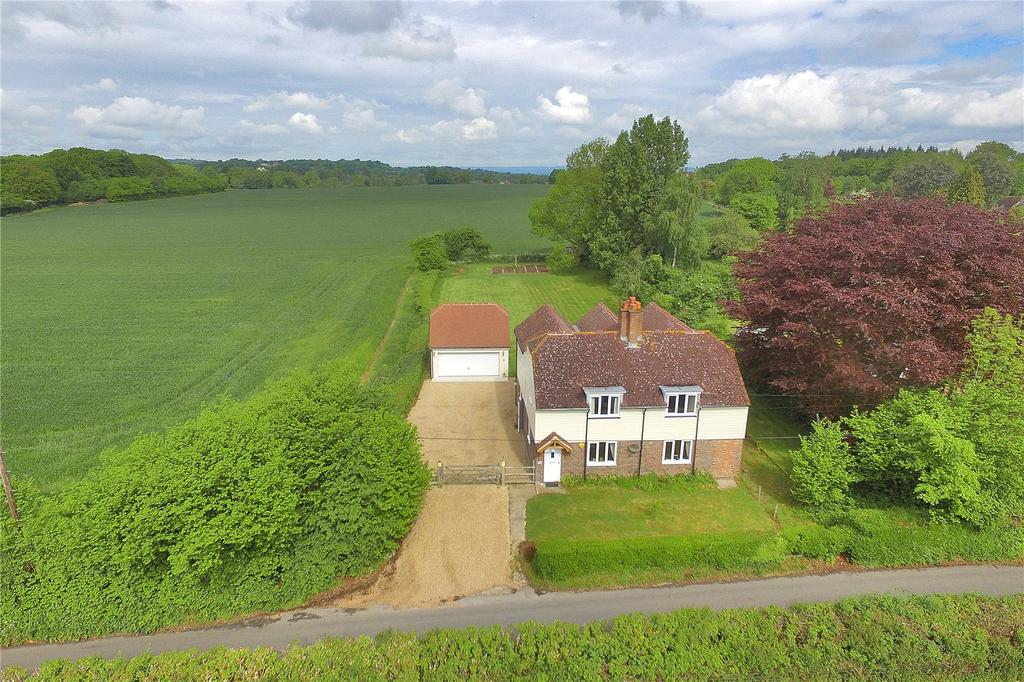 5 Bedrooms Detached House for sale in Coldharbour Road, Penshurst, Tonbridge, Kent